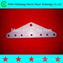 Yoke plate/line hardware of link fitting