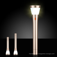 Graceful Design 3 dans 1 fonction avancée Eye-Care LED CREE T6 lampe de poche en aluminium