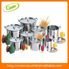 Ensemble de pot de cuisine en acier inoxydable (RMB)