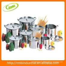 stainless steel cooking pot set(RMB)