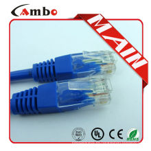 Cambo cat5e cat6 cable de puente 24awg