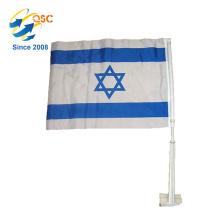 Werbe Großhandel Feder Israel Nationalauto Flagge