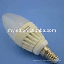 Lámpara estupenda del bulbo del brillo 5W de la promoción E27 / E14 Dimmable LED Blubs