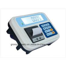 Elektronische Wägeindikator mit Thermodrucker