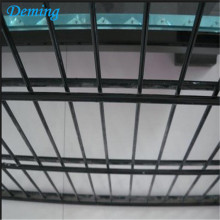 Pvc Coated Twin Wire Mesh Fence Panel