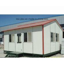 Slope Roof Prefab Günstige modulare Haus, temporäre billigere Prefab Kabine