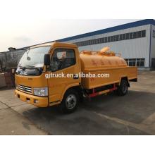 6cbm 4X2 unidad Dongfeng bomba de vacío camión de succión fecal / camión de succión de aguas residuales