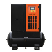 China Supply Tank Mounted Screw Air Compressor 5.5-15kw
