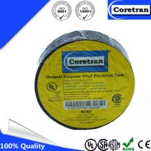 Hot Sale Black PVC Vinyl Adhesive Tape