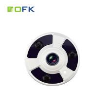 0.001 Low Illumination 3.0MP Starlight 1.56mm Panorama Fisheye IP Camera