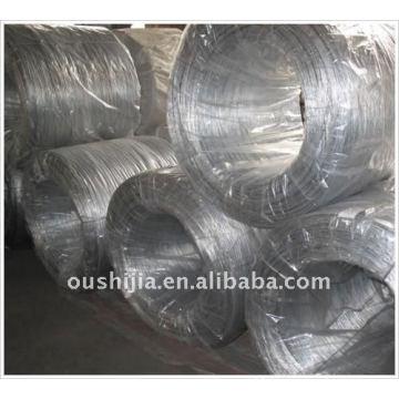 Galvanized annealed wire