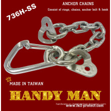 736H-SS Stainless Steel Rock Climbing Anchor Chains