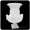 China white marble planter pot VFP-006L