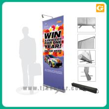 Banner retrátil de publicidade 80 * 200 cm roll up stand
