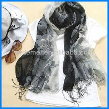 Льняной шарф, печатный шарф, рекламный шарф