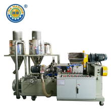 Dual Taper Extrusion Granulator for EPDM