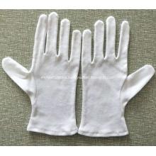 White Cotton Safety Working Gloves