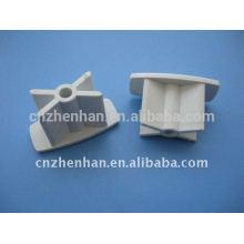 Cortina componente-tapa de PVC para carril inferior, mecanismos de persiana enrollable, accesorios de tubo de obturador enrollable, tapa para persiana enrollable