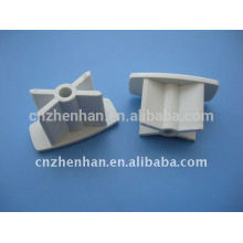 Cortina componente-tampa de PVC para trilho inferior, mecanismos de cortina de rolo, acessórios de tubo de obturador de rolo, tampa de extremidade para cortina de rolo