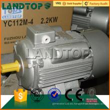 TOPS 220V 50Hz monofásico 2HP motor eléctrico