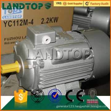 TOPS 220V 50Hz single phase 2HP electric motor