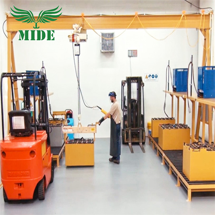 Adjustable Telescoping Gantry Crane