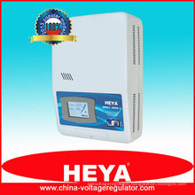 China wall mounted fully automatic 9kva 220v ac voltage stabilizer for 240v appliances