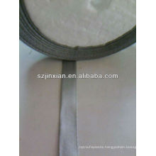 grey polyester grosgrain bow ribbon