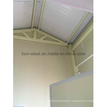 Simple Low Cost portable Steel Frame for Prefabricated House