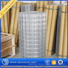 Zhuoda galvanizado melhor qualidade barata soldada rolo de malha / malha de arame
