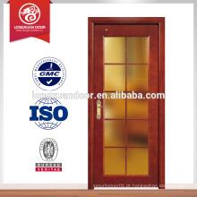 Hot Sales villa portas de madeira maciça, porta de vidro de madeira maciça