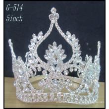 Silver Princess Princess Princesse Vente en gros Hot Beauty Beauty Tiara Crown