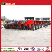 Air Suspension Four Fuwa/BPW Axles Heavy Duty Trailer