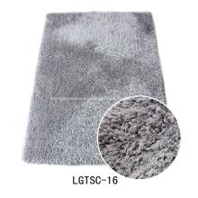 Hilo elástico grueso con 150D Shaggy alfombra