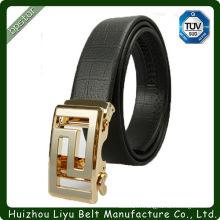 Personnalisation de la ceinture en cuir véritable ceinture en cuir honnête avec boucle en alliage de zinc