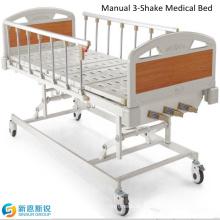 Buy Hospital Furniture Manual Three Shake Medical Beds