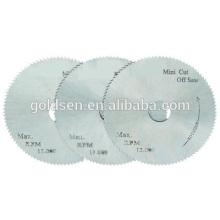 Lame de scie circulaire mini-acier de 50 mm 2 po pour mini scie à onglet / coupe
