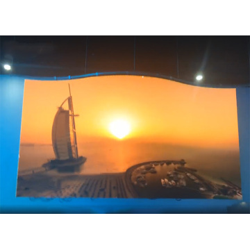 Indoor Curved LED Display with Vivid Pictures