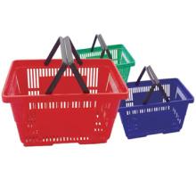 Produto quente preço razoável 30L rolando cesta 45L compras cesta 20L cesta de supermercado