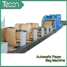 Machine à fabriquer des sacs en papier à ciment automatique multifonction