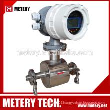 tri-clamp electromagnetic flow meter dalian metery