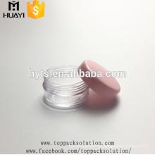 Pot de crème cosmétique en plastique de 3ml 5ml 8ml à vendre