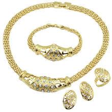 Conjunto de jóias de liga de venda quente de alta qualidade Womenâ € ™ s