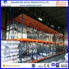 Cremalheira ereta do armazenamento do preço de fábrica três para a indústria têxtil