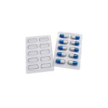 Bandeja de paquete de ampolla de cápsula de píldora transparente médica personalizada