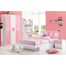 Pretty Children Bed, Kd Bedroom Furniture (L122)