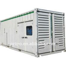 12v cilindro jichai soundproof generador de contenedores gran planta de energía con un año de garantía