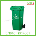 120L Plastic Waste Bin with Pedal