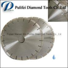 Granit-Platte, die Diamant-Blatt für Granit-Brücken-Ausschnitt schneidet, sah