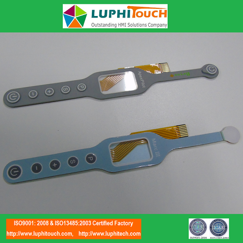 Electric Toothbrush Rubber Keypad Membrane Switch